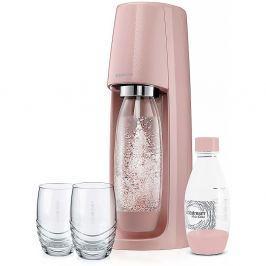 SODASTREAM Spirit Růžový výrobník perlivé vody