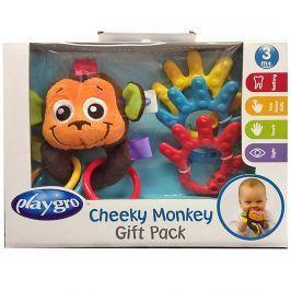 PLAYGRO Dárkový set Opička