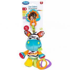 PLAYGRO Závěsná zebra s kousátky