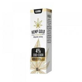 VIRDE Hemp gold 4% konopný olej CBD + CBA 10 ml VÝPRODEJ exp. 31. 01. 2018