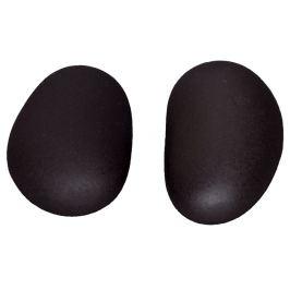 Hot Stone Premium lávové masážní kameny na chodidlo 9,5-11,5 cm, 2 ks