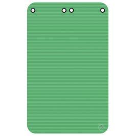 Podložka na cvičení THERA, 180 x 120 x 1,5 cm, s kroužky zelená