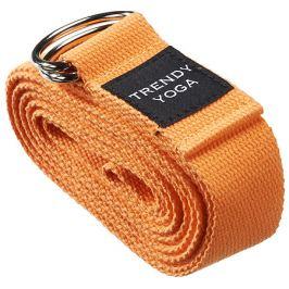 Trendy Sport YOGA pásek, 190 x 4 x 0,2 cm, oranžový