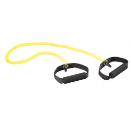 Trendy Sport Posilovací guma v ochranném rukávu, žlutá