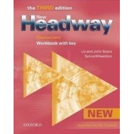 New Headway Elementary Third Edition Workbook with key - John Soars