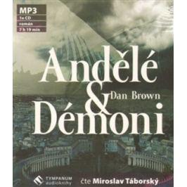 Andělé a démoni (zkrácená verze) - Dan Brown - audiokniha