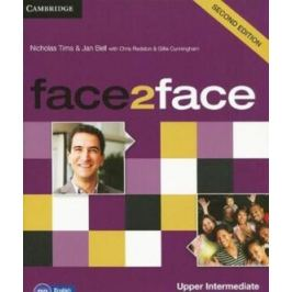 Face2face Upper Intermediate Workbook with Key - Chris Redston, Gillie Cunningham