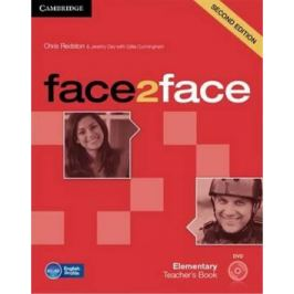 Face2face Elementary Teachers Book with DVD - Chris Redston, Gillie Cunningham