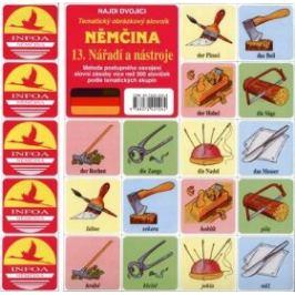 Najdi dvojici - Němčina - 13. Nářadí a nástroje