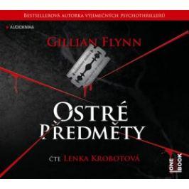 Ostré předměty - Gillian Flynnová - audiokniha