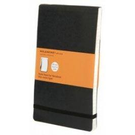 Moleskine - zápisník Reportér - linkovaný, černý L
