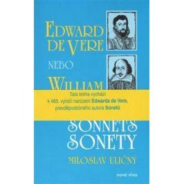 Sonnets / Sonety - William Shakespeare, Jaromír Gál, Tomáš Kropáček, Edward de Vere