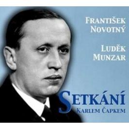 Setkání s Karlem Čapkem - František Novotný - audiokniha