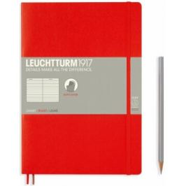 Zápisník Leuchtturm1917 Composition Softcover Red linkovaný