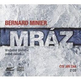 Mráz - Bernard Minier - audiokniha