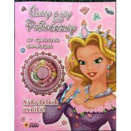 Úkoly a hry pro princezny se spoustou samolepek - Náhrdelník uvnitř!