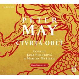 Čtvrtá oběť - Peter May - audiokniha