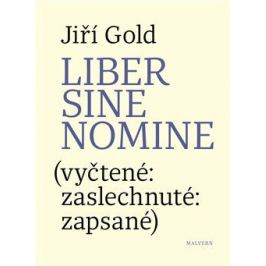 Liber sine nomine - Jiří Gold