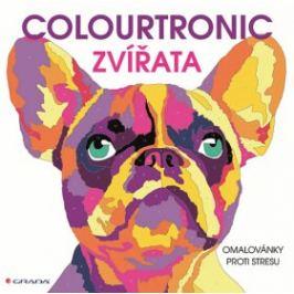 Colourtronic Zvířata - omalovánky proti stresu - Farnsworthová Lauren