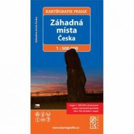 Záhadná místa Česka/1:500 tis.