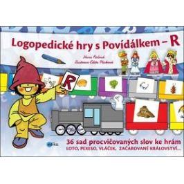 Logopedické hry s Povídálkem – R - Edita Plicková, Hana Fialová