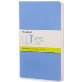 Moleskine - zápisníky Volant 2 ks - čisté, modré L