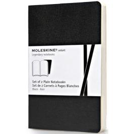 Moleskine: Volant zápisníky čisté černé S