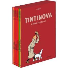 Tintinova dobrodružství - kompletní vydání 1-12 - Herge