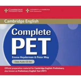 Complete PET Class Audio CDs (2) - Emma Heyderman, Peter May