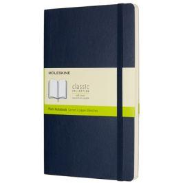 Moleskine - zápisník měkký, čistý, modrý L