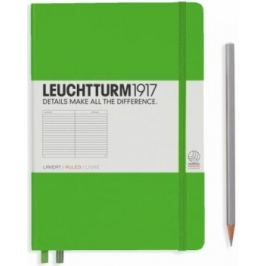 Zápisník Leuchtturm1917 Fresh Green Medium linkovaný
