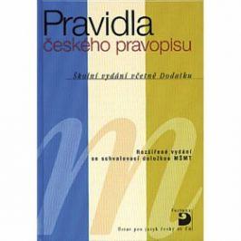 Pravidla českého pravopisu, brožované vydání - Martincová Olga