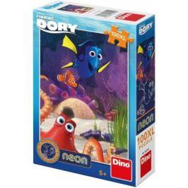 Veselá Dory - puzzle neon 100 XLdílků