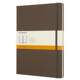 Moleskine - zápisník tvrdý, linkovaný, hnědý XL