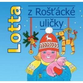 Lotta z Rošťácké uličky - Astrid Lindgrenová - audiokniha