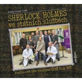 Sherlock Holmes ve státních službách - Arthur Conan Doyle - audiokniha