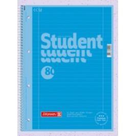 Student blok A4 CC azur lin 80 listů