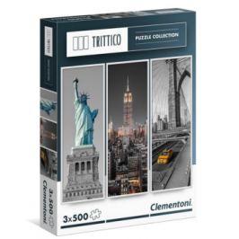 Vertikální puzzle New York - 3 x 500 dílků