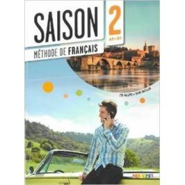 Saison 2 A2-B1 Livre d´éleve + CD + DVD