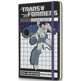 Moleskine: Transformers zápisník linkovaný Megatron L