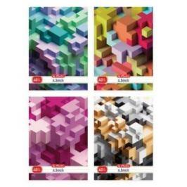Sešit A4 čtverečkovaný - Tetris