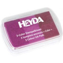 Razítkovací polštářek 3 barvy - tóny růžové
