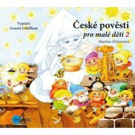 České pověsti pro malé děti 2 - Martina Drijverová - audiokniha