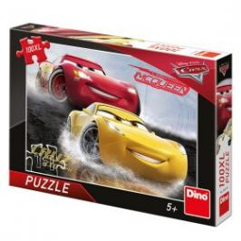Puzzle Auta 3 - Aquaplaning -100XL dílků