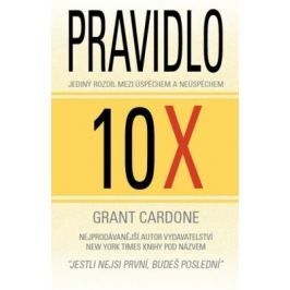 Pravidlo 10X - Jediný rozdíl mezi úspěchem a neúspěchem - Cardone Grant