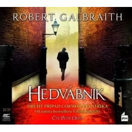 Hedvábník - Robert Galbraith - audiokniha