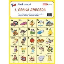 Najdi dvojici - ČJ-1. Česká abeceda