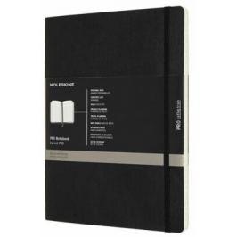 Moleskine - diář-zápisník Professional - černý, měkký XL