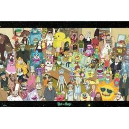 plakát - Rick and Morty - Cast