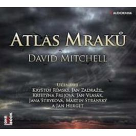 Atlas mraků - David Mitchell - audiokniha